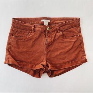 H&M Burnt Orange Shorts 6